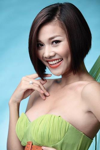 Kiểu tóc 2012: Học tập cách để tóc ngắn của Sao Việt