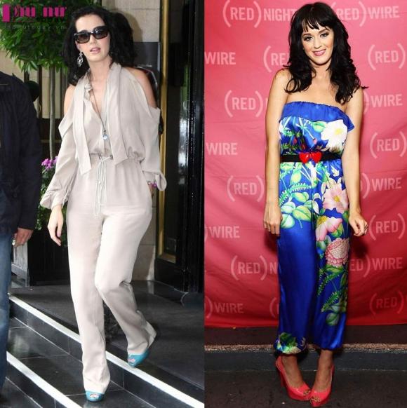 So sánh cách diện mốt jumpsuit của sao Việt và sao Hollywood
