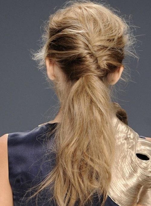 Kiểu tóc 2012: Tự làm tóc tết phong cách Pháp
