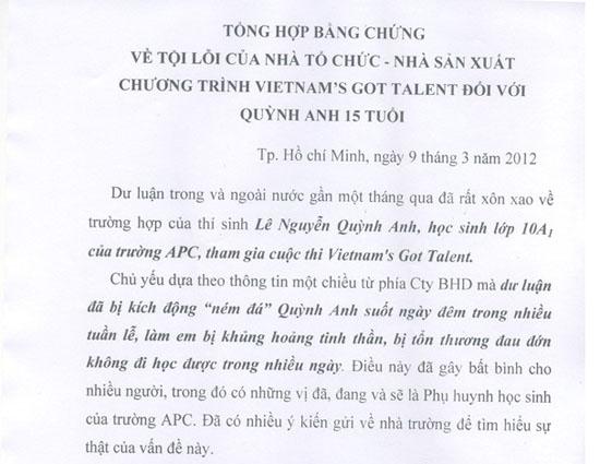 Xuất hiện clip tổng hợp 'tội lỗi' của VN Got Talent