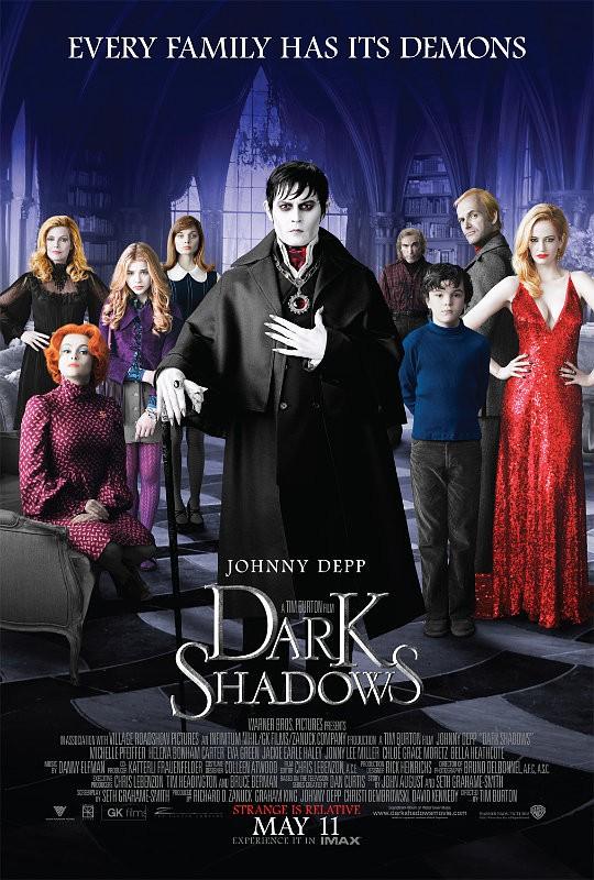 'Dark Shadow': Trailer vừa kinh dị vừa hài hước