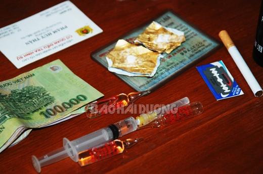 Cảnh sát giao thông bắt tội phạm ma túy