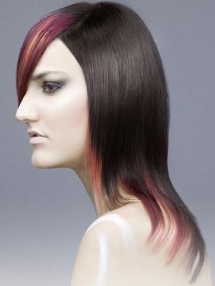 Xu hướng màu tóc 2012: Rực rỡ đa sắc lên ngôi