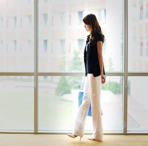 Quần tây nữ 2012 tôn dáng ngọc nơi công sở