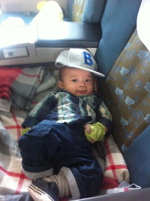 Những hình ảnh mới nhất của con trai Ngô Kiến Huy