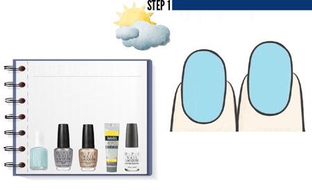 Vẽ nail ngộ nghĩnh đón nắng hè