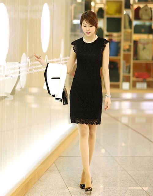 Váy liền công sở 2012 uyển chuyển cho mọi dáng vóc