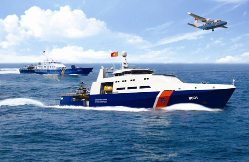 Các loại tàu hiện đại của Cảnh sát biển Việt Nam
