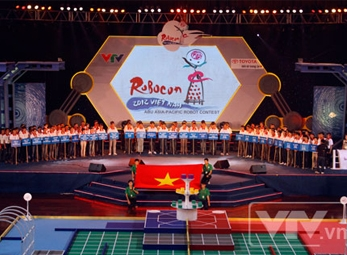 Khai mạc vòng chung kết Robocon Việt Nam 2012