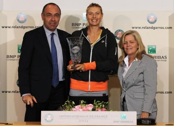 Pháp Mở rộng 2012: Vinh quang gọi tên Sharapova