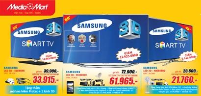 Giảm thêm 15% cho chủ thẻ Vietinbank tại Media Mart