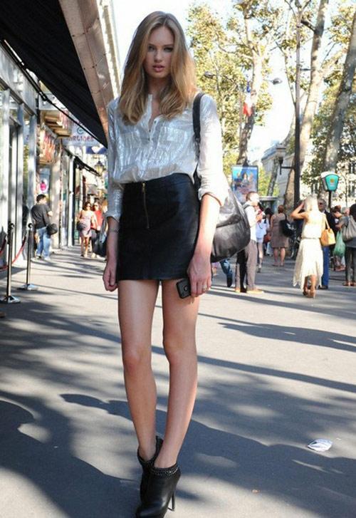 Váy ngắn 2012 quyến rũ giúp khoe chân dài nuột nà