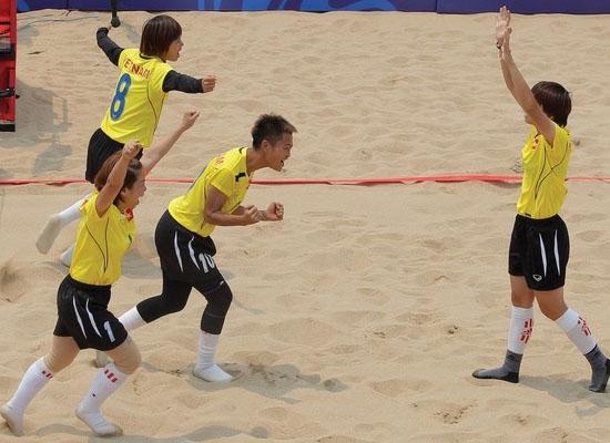 Đại hội thể thao bãi biển châu Á: Việt Nam tạm xếp thứ 10 toàn đoàn