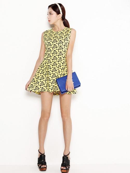 Giải nhiệt mùa hè với váy suông