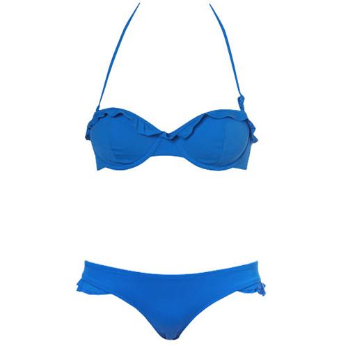 'Bí kíp' diện bikini cho vòng 1 kẹp lép