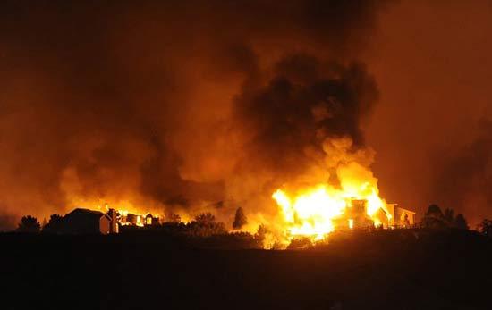 Cháy rừng kinh hoàng ở Mỹ