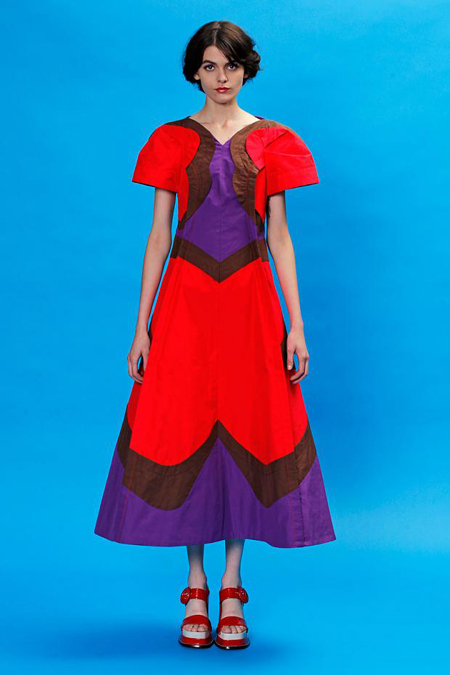 BST Marc Jacobs Resort 2013: Ấn tượng sắc màu