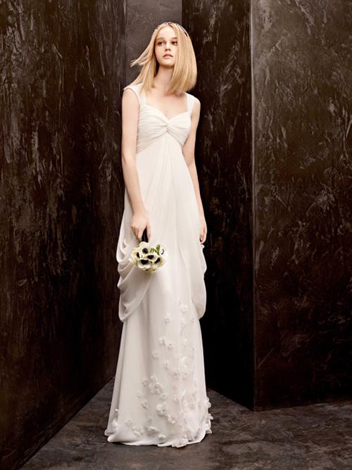 Ấn tượng BST váy cưới Thu 2012 của Vera Wang