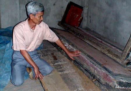 Xác ướp bí ẩn trong ngôi mộ bị lãng quên ở Hưng Yên