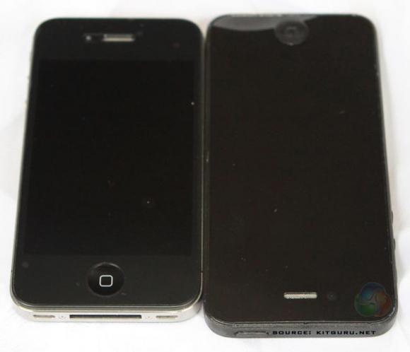 Xuất hiện iPhone 5 'bằng xương bằng thịt'