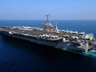Mỹ gửi hàng chục tàu ngầm không người lái đến Iran