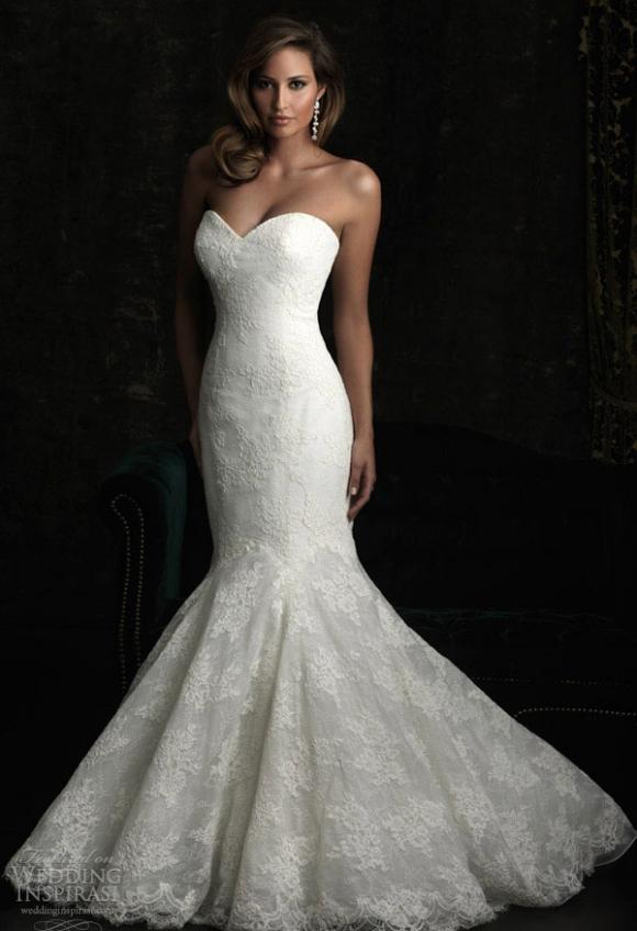 Lộng lẫy những mẫu váy cưới của Allure Bridals
