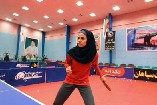 Phụ nữ Hồi giáo Iran tiên phong tham dự Olympic