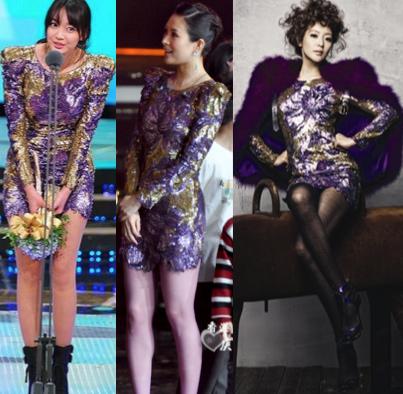 Chấm điểm sao Hàn khi 'đụng' váy hàng hiệu