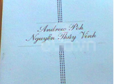 Tiệc cưới của Thúy Vinh sẽ tổ chức tại Sheraton Saigon