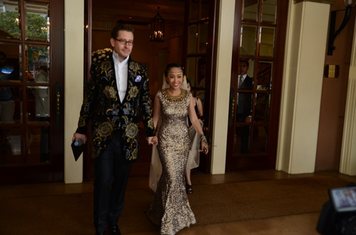 Đám cưới 'độc và lạ' của Đoan Trang