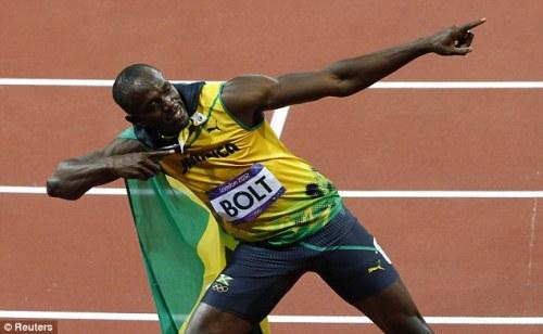 Cách ăn mừng của sao Olympic gây sốt