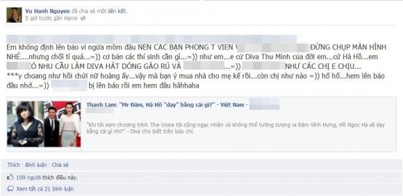 Dư luận 'dậy sóng' sau phát ngôn của Diva Thanh Lam