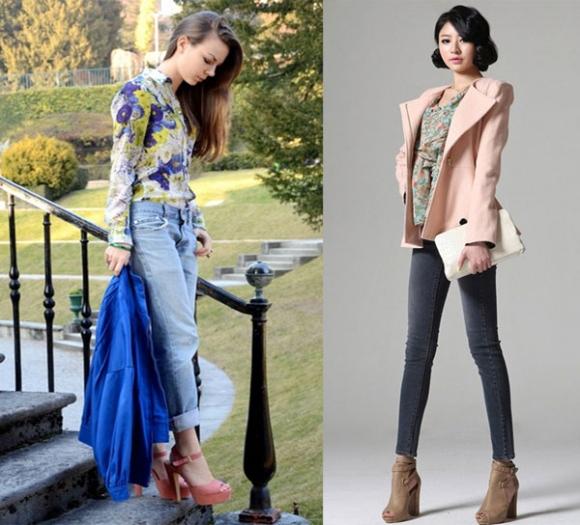 Họa tiết hoa 'bùng nổ' thời trang thu đông 2012/2013