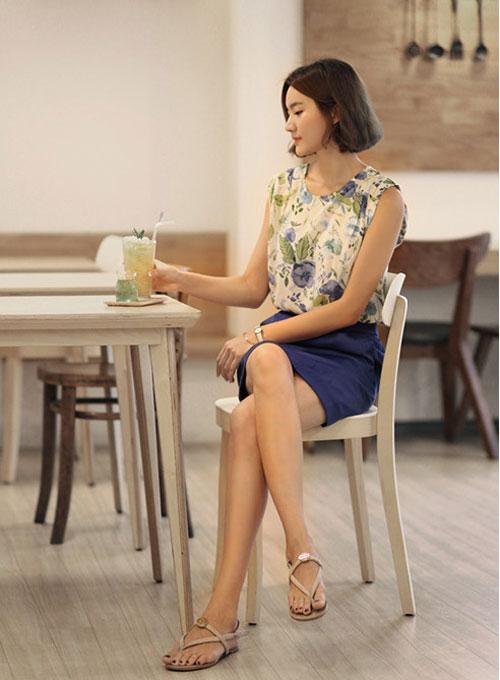Mẫu chân váy quyến rũ cho nàng công sở