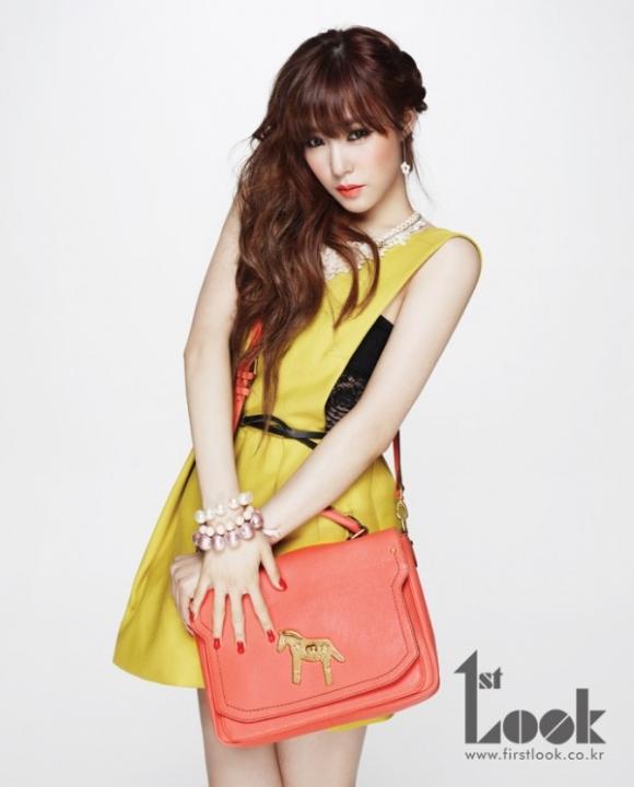 Tiffany (SNSD) hóa cô nàng đẹp trai trên First Look