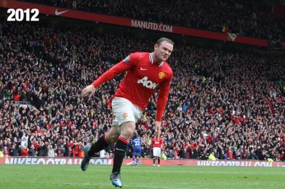Nhìn lại 10 năm sự nghiệp của Rooney qua ảnh
