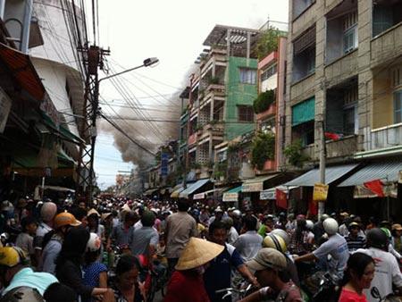 Vụ cháy lớn nhất từ trước đến nay ở Tiền Giang