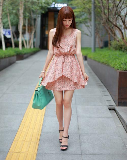Váy xinh yêu kiều cho cuối tuần lãng mạn