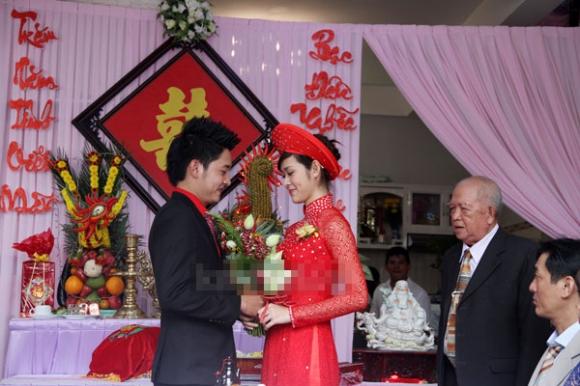 Cận cảnh đám cưới hotgirl Diệp Bảo Ngọc