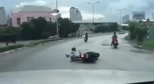 Tin mới nhất vụ clip cướp giật ở cầu Sài Gòn