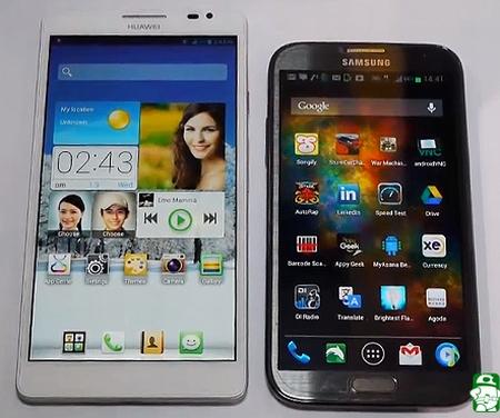 Huawei Ascend Mate - đối thủ đáng gờm của Galaxy Note 2