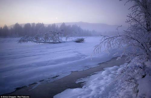 Cuộc sống ở nơi lạnh giá tới -71,2 độ C