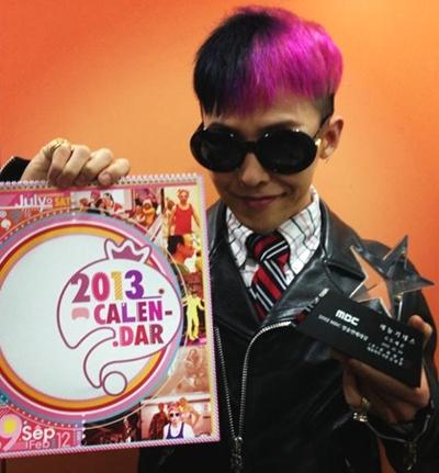 Sao Hàn 'chơi trội' với màu tóc nhuộm