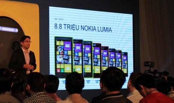 Nokia gửi thông điệp trở lại bằng Lumia 1520