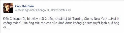 Cao Thái Sơn cập nhật hình ảnh mới nhất trong 'bão' tin đồn