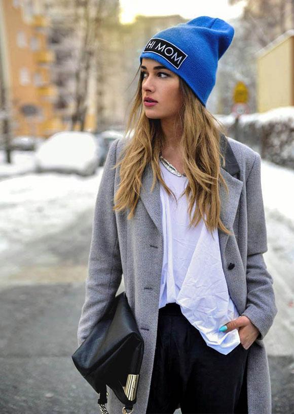 Mũ Beanie, phụ kiện đáng yêu dành cho mùa đông