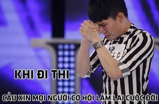 Dân mạng chế ảnh Quân Kun đi thi Việt Nam Idol