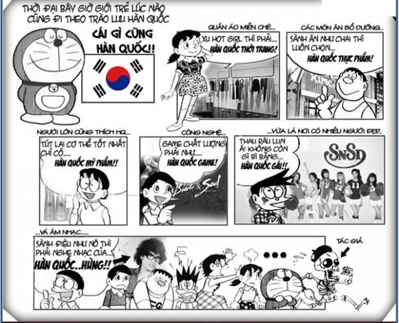Đôrêmon chế (P172): 'Sóng' KPop tấn công Doraemon