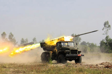 Sức công phá của pháo phản lực 'chỉ có ở VN' trên chiến trường