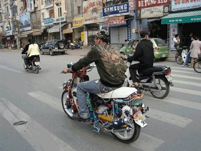 Những chiếc mô tô 'độ' độc nhất vô nhị Việt Nam